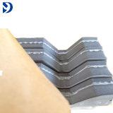 Seite des graues Dachgesims-Infill Streifen-Schaumgummi-Schliessen-Streifen-einer mit Kleber-Schliessen-Streifen