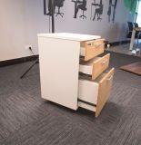 [غكن] مكتب خشبيّة أثاث لازم 3 ساحب متحرّك يملأ خزانة