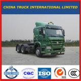 HOWO 380cv Euro4 10 Wheeler Semi-Trailer caminhão de reboque