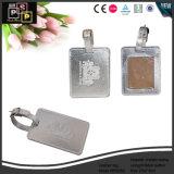Дешевая бирка Hang багажа перемещения кожи PU Wholesle (5563R2)