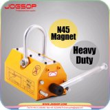Imán de elevación del levantador de 600 Kg/1323lb del alzamiento resistente magnético de acero de la grúa