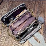 Bolsas de couro do plutônio das mulheres dos sacos de ombro do mensageiro do projeto da forma
