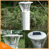 L'aluminium Pelouse lumière solaire jardin paysager de lampe LED pôle