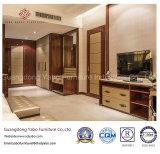 Het naar maat gemaakte die Meubilair van het Hotel voor Slaapkamer met Tweepersoonsbed wordt geplaatst (yb-809)