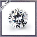 큰 크기 12mm 둥근 H&a에 의하여 잘리는 합성 Moissanite 다이아몬드