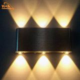 Наиболее популярные алюминиевый корпус черного цвета LED настенный светильник для использования вне помещений