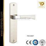 Safe Door Lock Handle Rising one Cylinder Backplate (7004-Z6044-CL)