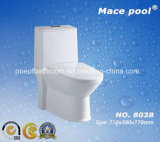구멍 충돌 유형 홍조 한 조각 화장실 세라믹 옷장 (8038)