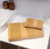 Essuie-main à la maison teint par filé en gros de Bath de main de face avec le prix bon marché