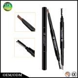 Conseguir a descuento el lápiz de ceja impermeable multicolor del maquillaje con el cepillo del rimel