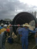 Tamanho do tubo de HDPE