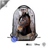 La conception de votre propre école sac sac à dos de cheval Mochilas imprimé en 3D
