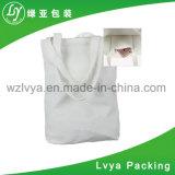 Saco cosmético de venda quente da composição do saco da lona do algodão da forma