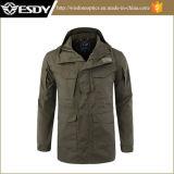 緑色のEsdyのジャケットの戦術的なウインドブレイカーのジャケットの戦闘ジャケット