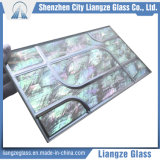 Vidrio de cristal del edificio del arte del shell para la decoración
