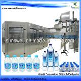 Máquina de rellenar del agua para la planta de agua embotelladoa