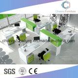 4개의 시트 나무로 되는 최고 녹색 내각 분할 컴퓨터 테이블 CAS-W1817