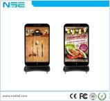 P5 Une installation facile plancher style iPhone permanent LED TV à écran de la publicité à l'intérieur avec des roues