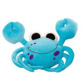 Jouet animal de peluche de crabe mou superbe