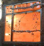 ガラスが付いている耐火性の鉄骨フレームのWindows