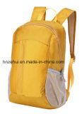 A forma dobro de nylon do saco do estudante do lazer dos homens e das mulheres da trouxa do ombro da edição coreana e Waterproof a trouxa do curso/trouxa de pouco peso do curso