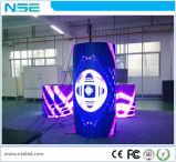 Parete curva flessibile dell'interno di P5 LED video/delicatamente schermo del LED/visualizzazione di LED locativa