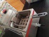 Puces profondes électriques commerciales de friteuse de friteuse/vaisselle de cuisine de pomme de terre/friteuse de poulet
