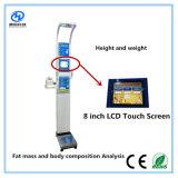 Электронные весы и высоты, цифровой орган шкалы измерения веса и высоты машины