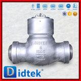 Задерживающий клапан качания сварное соединение встык испытания Didtek API598