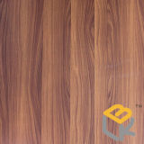 Het houten Decoratieve Melamine Doordrongen Document van de Korrel voor Vernisje, Keuken, Deur en Meubilair van Chinese Fabrikant