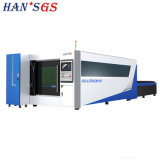 500W 1000W 1500W chapa metálica CNC Máquinas de processamento de máquina de corte de fibra a laser