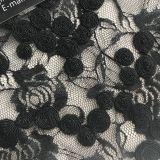 Bordado de la tela del cordón con cualquie diseño de Clients Photo