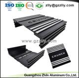 La fábrica de aluminio/aluminio Extrusión de perfiles para el equipo de audio