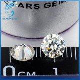 5mm 0.5cts 화려한 커트 보석을%s 백색 Moissanite 다이아몬드의 둘레에