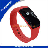 Het Polymeer Bluetooth 4.0 van het Lithium van het zink Slim Horloge