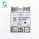 80A SSR твердотельное реле постоянного тока DC вход управляющего сигнала 5-2003-32В пост тока твердотельное реле черного цвета (SSR-80DD)