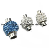 Rhinestone Stainless Steel Magnet Clasp