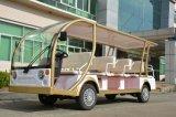 Роскошный популярный туристический автобус с электроприводом электромобиля