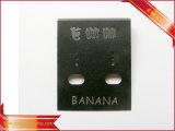 Карточка серьги карточки ювелирных изделий карточки вешалки PVC