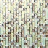 Mosaïque de verre cristal de mosaïque de salle de bains de mosaïque de mur de Backsplash