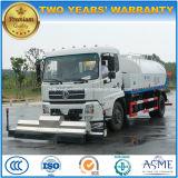 De Vrachtwagen van de Straatveger van Dongfeng 4X2 met de Was van de Hoge druk