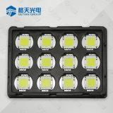 Menos del 3% de caída de brillo de color blanco de mazorca de alta potencia LED 80W