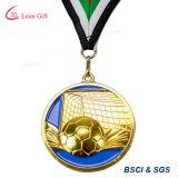最もよい価格の卸し売りカスタムロゴのサッカーメダル