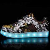 Personnaliser l'exécution de lumière à LED Les chaussures de sport pour les enfants