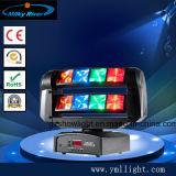 4 головки блока цилиндров 40Вт Светодиодные перемещение светового пучка Колошения бар лампа