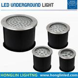 高められた版IP67 24X2w LED地下ランプLED地下ライト