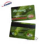 China-Hersteller-Zubehör-Plastik bereifte Magnetstreifenkarte