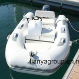 Barco inflável Rhib da casca da fibra de vidro de Liya 3.3m China