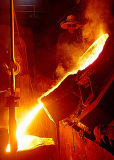 Forno di fusione di alluminio per 500kg