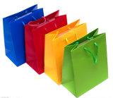 Полный цвета бумаги подарок пакет пользовательских подарочный пакет печать